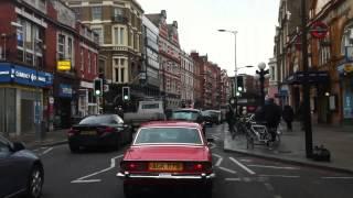 London Streets (495.) - Hammersmith - Earl´s Court - South Kensington - Eaton - Westminster