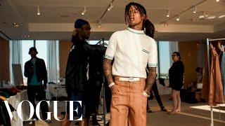 Behind Swae Lee's Backwards Polo Shirt Cfda Awards Look  Vogue