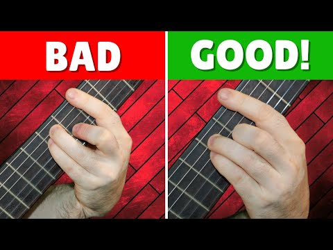 How to Easily Change Between Difficult Chords on Guitar | Guitar ...