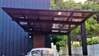 広島県熊野町のカーポート施工例|エクステリアのエクスショップ
