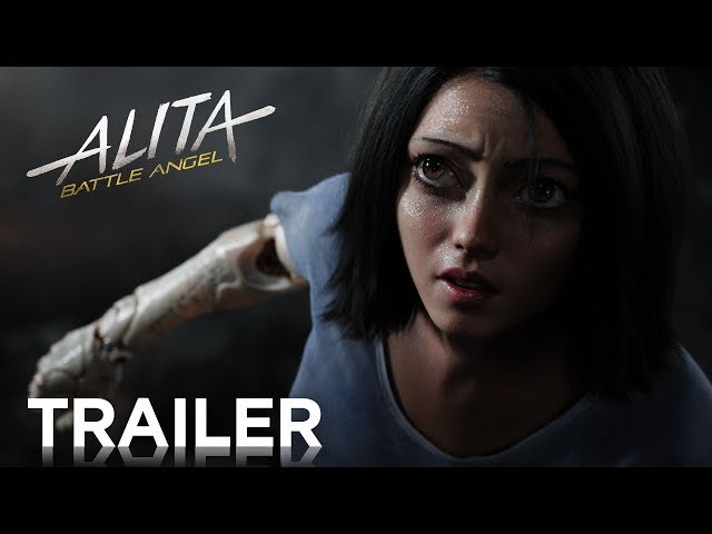 Alita: Battle ANgel, Official Trailer