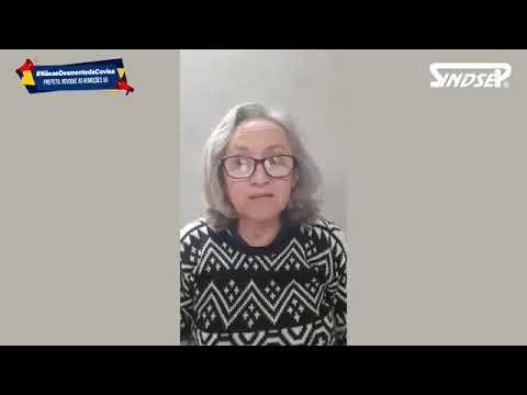 Maria Auxiliadora, militante do Movimento Popular de Saúde da Zona Leste fala sobre o desmonte da Covisa