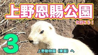 上野公園に行こう3〜上野動物園東園へ〜
