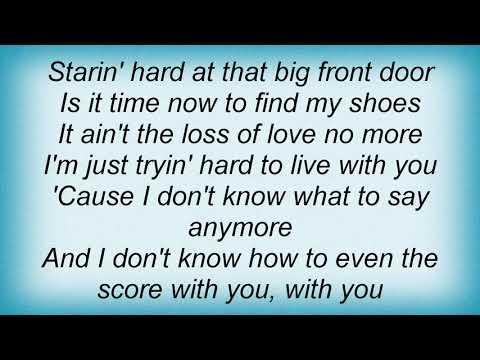 America - Even The Score Lyrics