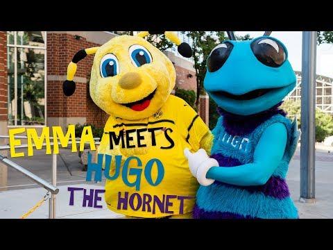 BVB goes NBA | EMMA meets Hugo the Hornet | Mascot Meetup