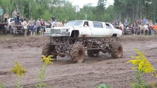 Jacked Up Limo 4x4 Big Tires MudFest