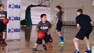 In & Out Crossover & Shoot Drill