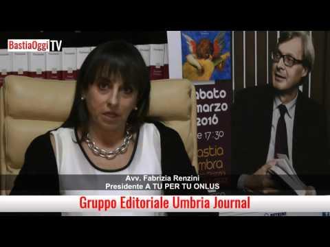 Presentazione incontro Vittorio Sgarbi   Intervista Fabrizia Renzini   BastiaOggi Tv