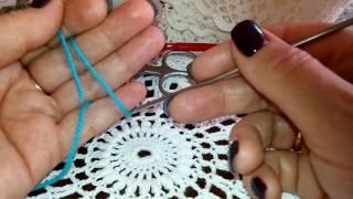 Курсы вязания крючком для начинающих. Урок №1.