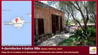 preview picture of video '4-dormitorios 4-baños Villa se Vende en Algaida, Mallorca, Spain'