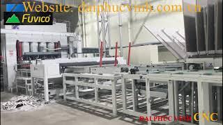 Full chuyền ép Melamine 2000 tấn cung cấp bởi công ty Đại Phúc Vinh