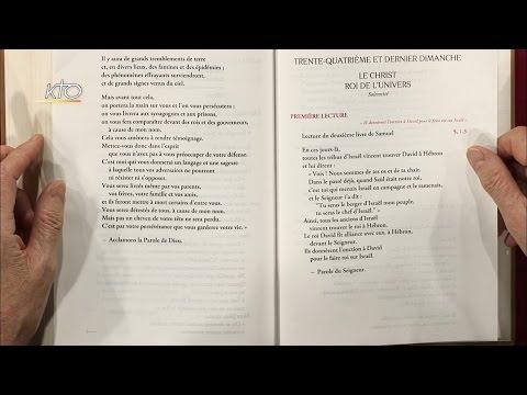 Solennité du fête du Christ-Roi de l'Univers C - Intégrale