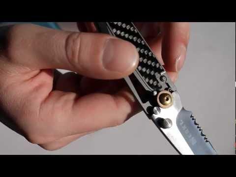 CRKT Kiss Assist Klappmesser Einhandmesser Taschenmesser Messer Ultra flach