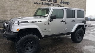 SOLD! 7J73 2017 JEEP WRANGLER UNLIMITED AEV CONVERSION FOND DU LAC 4X4 $72,503 www.SUMMITAUTO.com