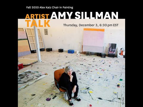 Amy Sillman: Fall 2020 Alex Katz Chair in Painting