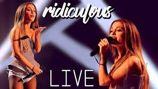 RIDICULOUS   Ariana Grande LIVE 2018 With Lyrics