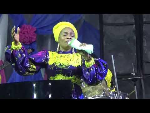 Tope Alabi at HALLELUYAH OPEN AIR CRUSADE IN IBADAN