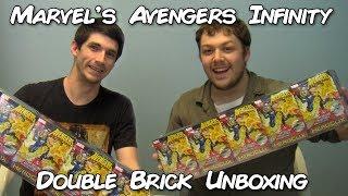 Marvel Heroclix   Avengers Infinity Double Brick Heroclix Case Unboxing & Review