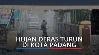 BPBD Padang Mulai Hentikan Distribusikan Air Bersih, Setelah Hujan Mengguyur Ibu Kota Padang