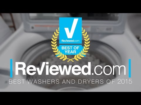 The Best Washers and Dryers of 2015