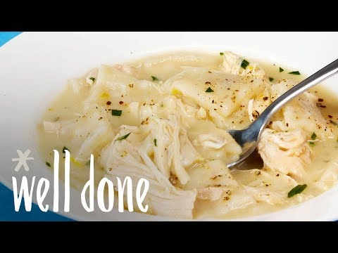 How To Make Pressure Cooker Chicken And Dumplings   Recipe   Well Done