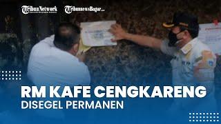 Kafe Lokasi Penembakan Bripka CS Disegel Permanen oleh Satpol PP, Sudah 3 Kali Langgar Aturan PPKM