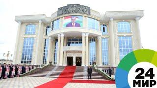 Рахмон открыл новое здание библиотеки, музея и музыкальной школы - МИР 24
