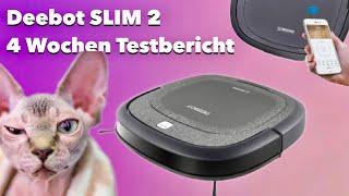 4 Wochen Testbericht zum Deebot Slim 2 Saugroboter - Hat Didi es drauf ? REVIEW TEST
