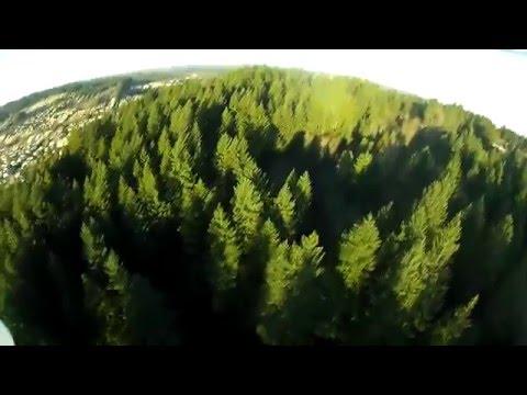 DJI Phantom Scenic Forest Shots In Oregon