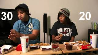 McDonalds Nugget Eating Competition!