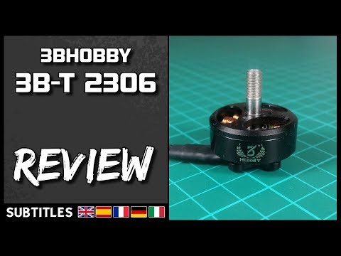 3BHOBBY 3B-T 2306 - Motor Review