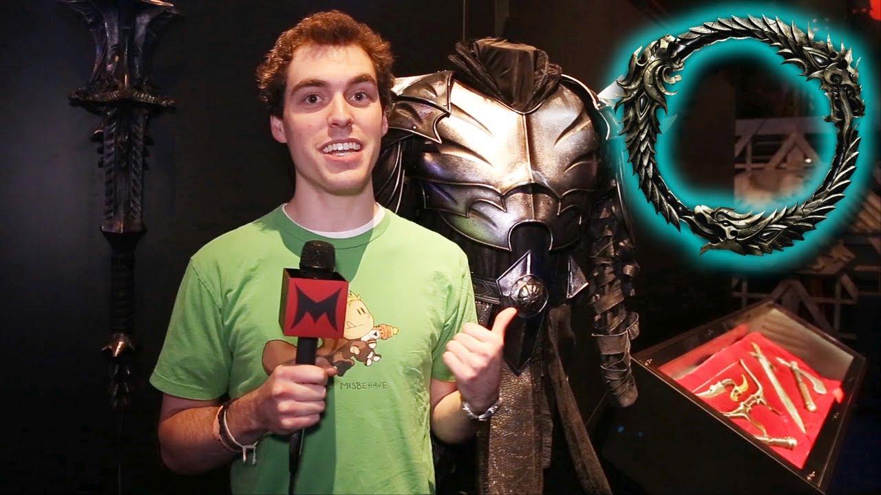 Elder Scrolls Online: видео - [Machinima] E3 2013 w/ ChimneySwift11