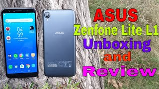 ₹ 5999/- Asus Zenfone Lite L1 Unboxing, Review & Camera.....क्या ये लेने लायक है ???