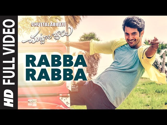 Rabba Rabba Video Song Full HD | Chuttalabbayi Movie Songs | Aadi | Namitha