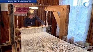 Елена Андреева из Крестецкого района рассказала о традиционном ремесле
