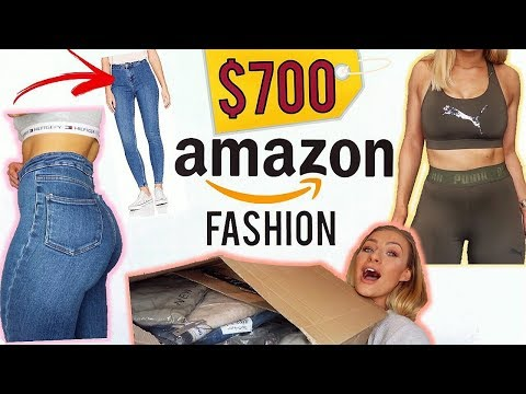 $700 AMAZON FASHION HAUL | THIS IS MY NEW FAVOURITE SHOP!!