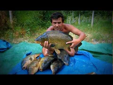 Giri su pesca in Urals