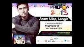 Christian Bautista - Araw, Ulap, Langit (Philpop 2013 Teaser)