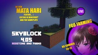 Mata Hari  - (Fate/Grand Order) - Skyblock 4.05 and FGO - Redtone and farming to cry for Mata Hari - [EN/PT/JP/ES]