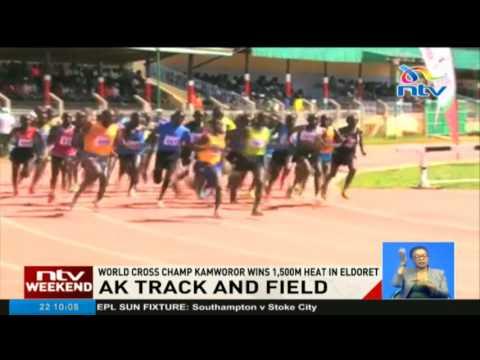 Kamworor wins 1500m heat in Eldoret AK track and field