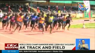 Kamworor wins 1500m heat in Eldoret AK track and field