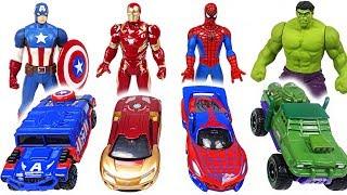 Paw Patrol! Let's play! Marvel Tomica and Metakore Hulk, Spider Man transform! | DuDuPopTOY