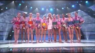 SYTYCD 8: Top 10 Girls - Pop Drop & Roll (w/ Judges' Comments)