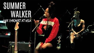 Summer Walker Concert | Live At UCLA