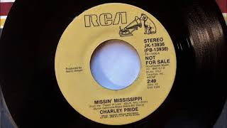Missing Mississippi , Charley Pride , 1984