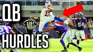 Best QB Hurdles In Football History || HD