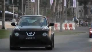 Дуэль Nissan JUKE-Р и Supercars. Дубай 2012.