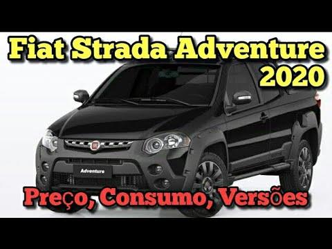 Nova Fiat Strada Adventure 2020: Preço, Consumo, Versões! Vejam todos os Detalhes