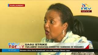CS Mohamed blames varsities for protracted strike - VIDEO