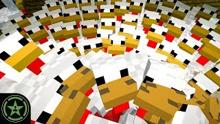 Drowning in Chickens - Minecraft - New Petting Zoo (#318) | Let